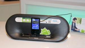 Philips bietet nun auch Dockinglautsprecher für Android-Geräte