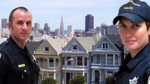 Polizisten des San Francisco Police Department