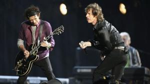 Die Rolling Stones bei einem Konzert in Mailand 2007