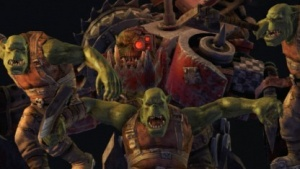 Orks in Furcht vor den Space Marines