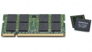 SO-DIMM (links) im Vergleich mit xFD gleicher Kapazität