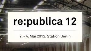 Die Re:publica 2012 findet im Rahmen der Berlin Web Week statt.