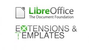 Libreoffice: Repositories für Erweiterungen und Vorlagen