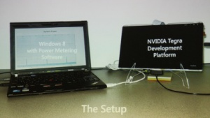 Tablet-Prototyp mit Connected Standby