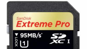 Neben den Eye-Fi-Karten gibt es neue SDXC-Karten von Sandisk.