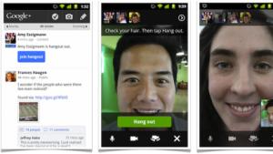 Hangouts in Google+ werden mobil.