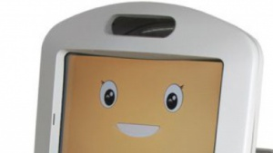 Lächeln: Panasonics freundlicher Roboter Hospi-Rimo