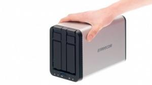 Das Silverstore 2-Drive NAS von Freecom