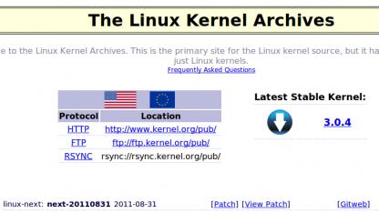 Die Webseite Kernel.org ist wieder online und wird auf den aktuellen Stand gebracht.