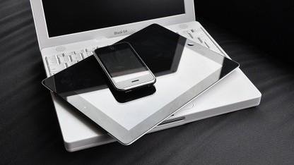Geräte mit viel Einfluss: iBook, iPad und iPhone