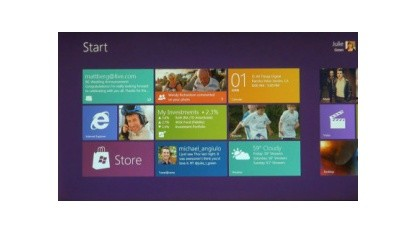 Windows 8 läuft virtualisiert unter Mac OS X.