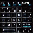 Heimkino: Beleuchtete Minitastatur mit Infrarotfernbedienung