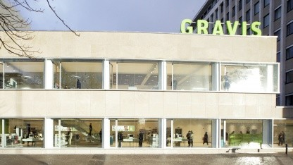 Der Gravis-Flagship-Store in Berlin