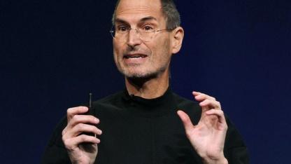 Biopic geplant: Steve Jobs (bei der Vorstellung des iPad 2 im März 2011)