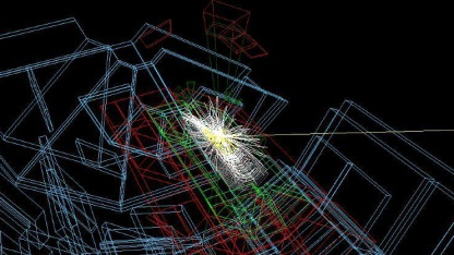 LHSee: Kollisionsereignisse in 3D auf dem Smartphone