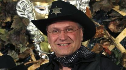 Joachim Herrmann (CSU) während des Karnevals 2010