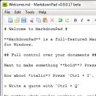 Textverarbeitung: Markdown-Editor mit Echtzeitvorschau für Windows