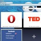 Browser: Opera 12 mit Hardwarebeschleunigung und Seitennavigation