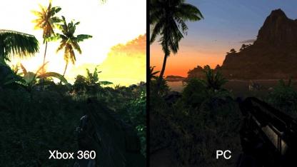 Crysis am PC und auf Xbox 360