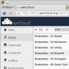 Persönlicher Onlinespeicher: Owncloud 2.0 verteilt Musik und Kalenderdaten