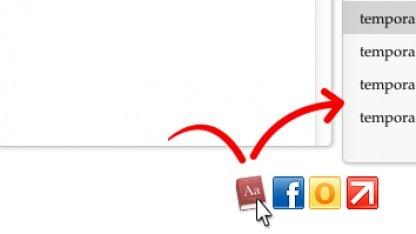Click.to: Von der Zwischenablage wird der gewünschte Vorgang über ein Icon gesteuert.