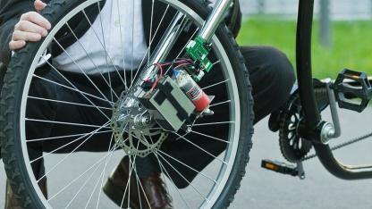 Drahtlose Fahrradbremse: nicht perfekt, aber akzeptabel