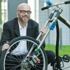 Drahtlose Fahrradbremse: Drucksensor statt Bremshebel