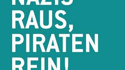 Wahlwerbung der Piratenpartei Mecklenburg-Vorpommern