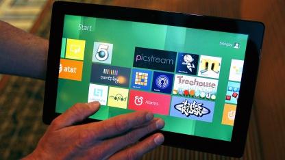 Windows-8-Tablet auf der Build in Anaheim