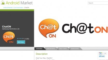 ChatOn im Android Market