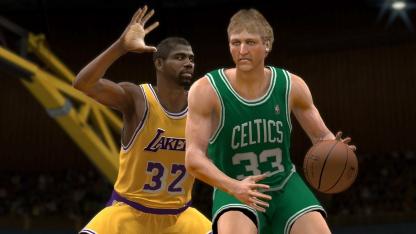Test NBA 2K12: Geschichtsstunde mit Legenden