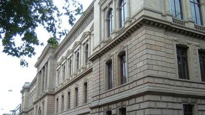 Der Altbau des Landgerichts Braunschweig