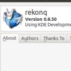 Freier Webbrowser: Rekonq 0.8 erhält Do-Not-Track-Funktion