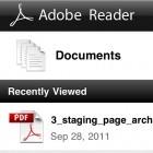 PDF-Software: Adobe Reader nun auch für iOS-Geräte