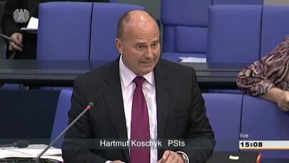 Staatssekretär Hartmut Koschyk