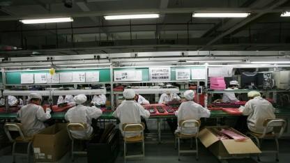Foxconn-Arbeiter