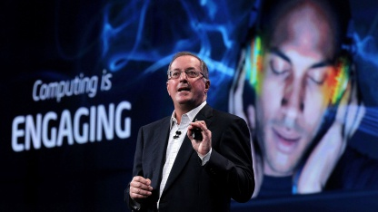 Paul Otellini auf dem Intel Developer Forum 2011
