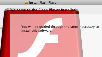 Trojaner gibt sich als Flashplayer aus.