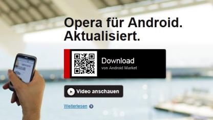 Opera Mobile 11.5 mit Fehlerkorrektur