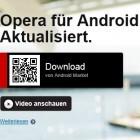 Opera Mobile 11.5 für Android: Update zeigt Golem.de-Webseite wieder mit Text