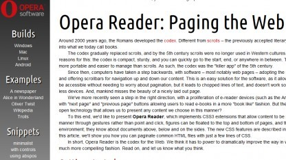 Opera Reader in Opera-Labs-Version nutzbar