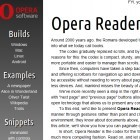 Opera Labs: Testversion mit Kameraunterstützung und Opera Reader