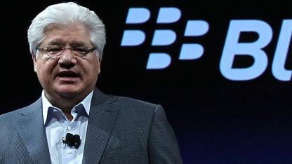 RIMs Co-Chef Mike Lazaridis handelt sich Ärger mit Blackberry BBX ein.