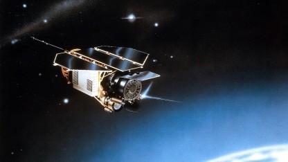 Forschungssatellit Rosat