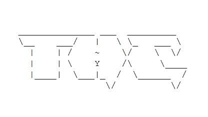 ASCII-Logo der Hackergruppe