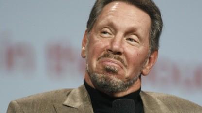 Aufkäufer: Oracle-Chef Larry Ellison auf der Oracle Openworld 2011