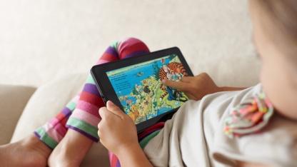 Amazon will mit dem Kindle Fire im wachsenden Tablet-Markt mitmischen.
