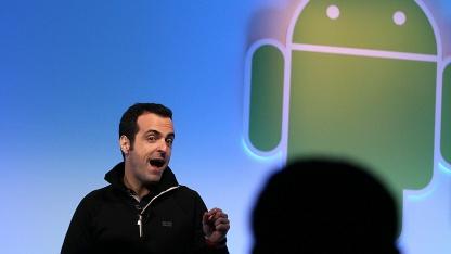 Hugo Barras stellt Android 3.0 alias Honeycomb im Februar 2011 vor.