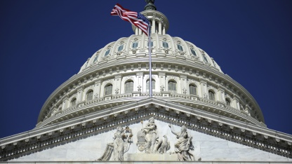 Das US-Repräsentantenhaus tagt im Kapitol in Washington.