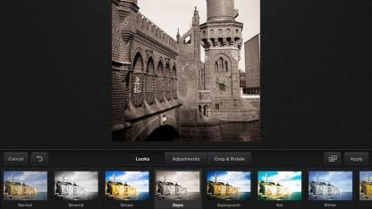 Adobe Carousel: Online-Fotospeicher und Bildbearbeitung